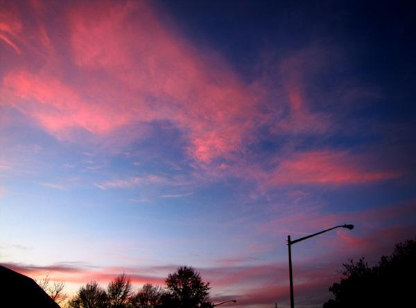 Sunset Dec 8