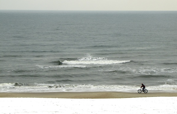 Beach Snow Jan 26