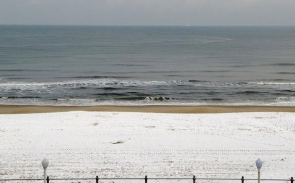 Beach Snow Jan 26